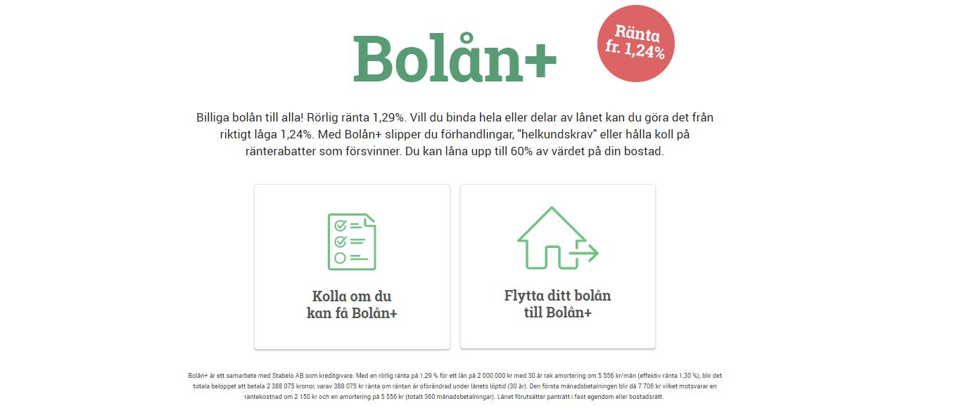 Jämför bolån - räkna på bolån ränta, billigast bolåneräntor & bästa bolån!